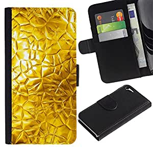 KingStore / Leather Etui en cuir / Apple Iphone 5 / 5S / Resumen de vidrio Sun Ventana brillante