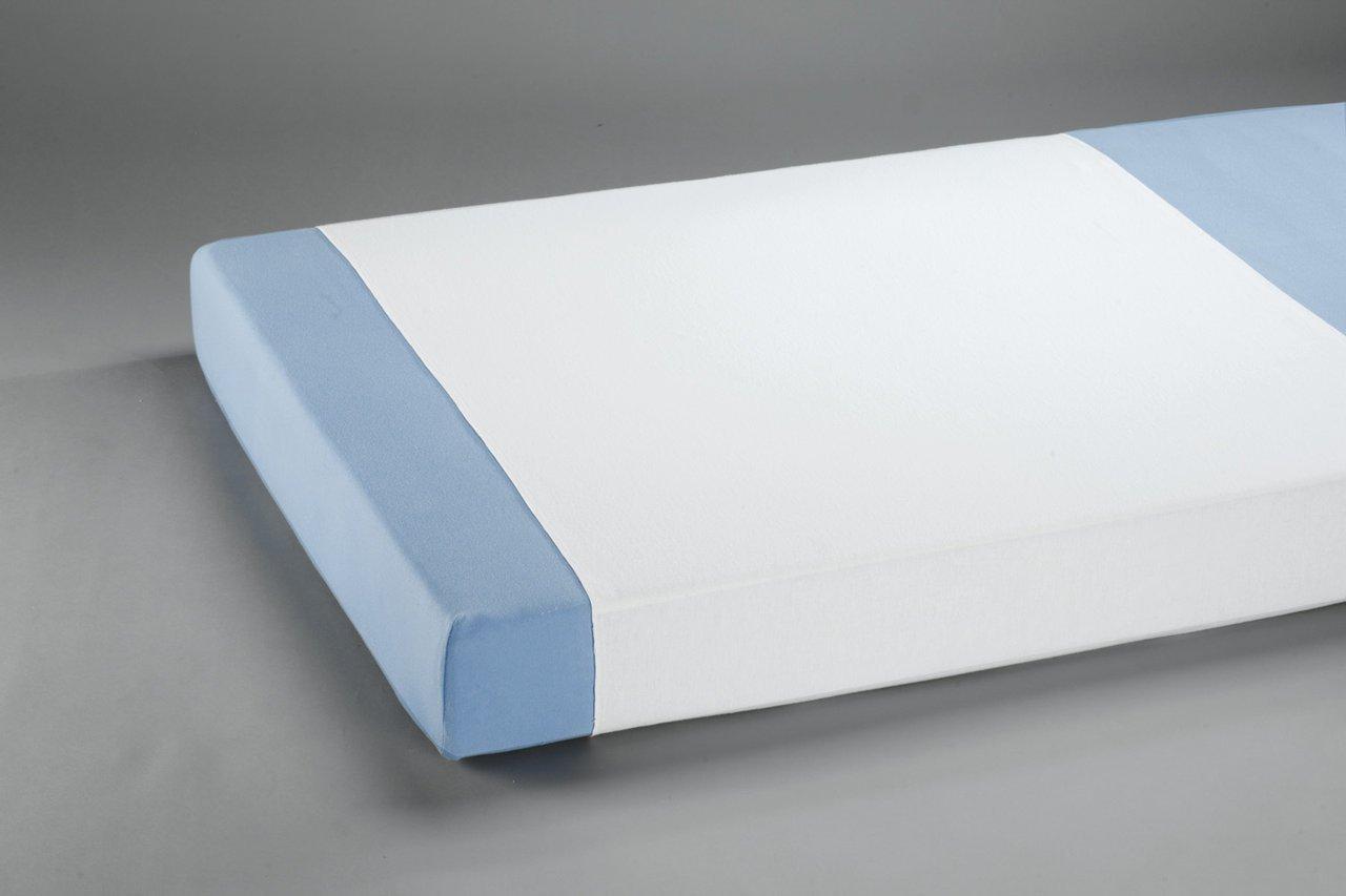 Inkontinenz-Stecklaken, Matratzenschutz wasserdicht, atmungsaktiv 90 x 150 Frottee/PU von SUPRIMA, 3er Sparpack