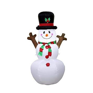 Amazon.com: LW Navidad inflable modelo, 5.2 ft Navidad ...