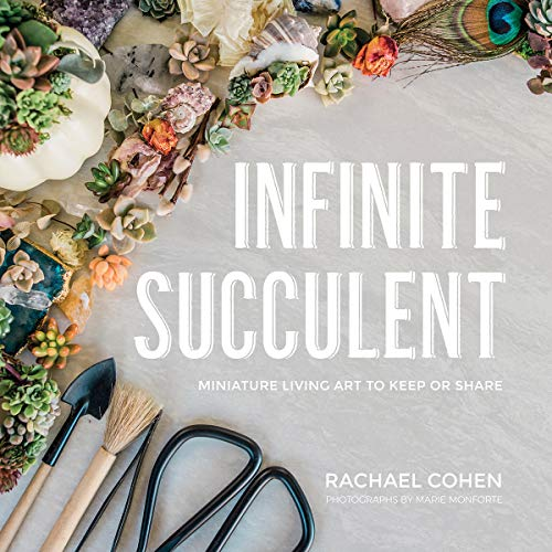 Book Cover: Infinite Succulent: Miniature Living Art to Keep or Share