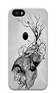 Cool Abstract Painting The sinister Far King Solomon Custom Slim 3D Case For Sam Sung Galaxy S5 Mini Cover
