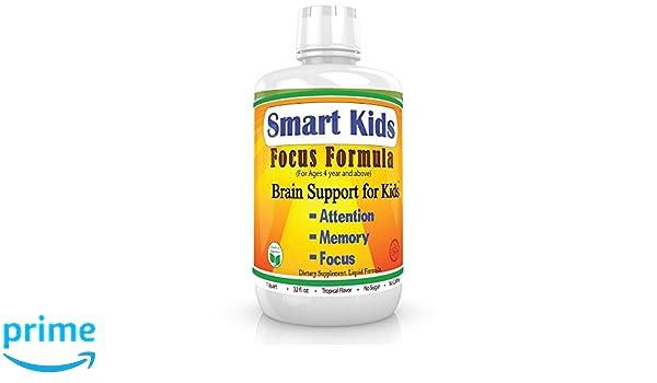 Amazon Com Brain Focus Memory Great Tasting Liquid Formula For