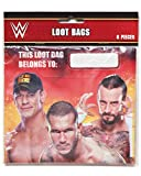 American Greetings WWE Treat Bags, Pack of 8, Party Supplies Novelty