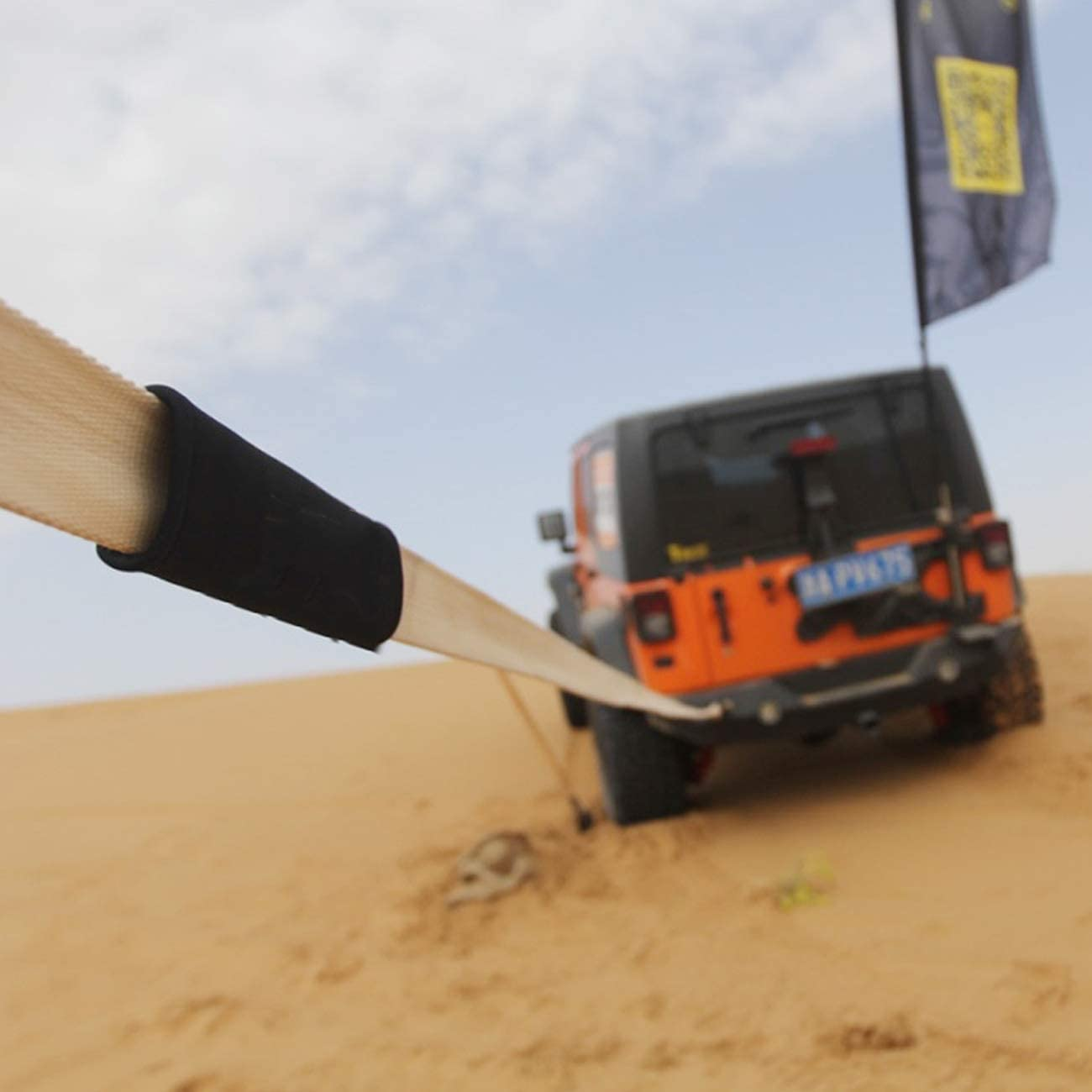 PKW PLUS 5 Meter Abschleppseil Auto Abschleppgurte mit 2 Sicherheitshaken Size : 5m//6t f/ür Automobile//SUV//Landwirtschaftliche Fahrzeuge Hochleistungs Abschleppgurt 4 /× 4
