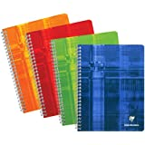 """Clairefontaine - Wirebound Notebook 6.75"""" x 8.63"""" French or College Ruled – 100 Pages"""