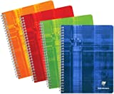 Clairefontaine - Wirebound Notebook 6.75' x 8.63' French or College Ruled - 120 Pages