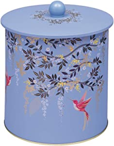 Sarah Miller London Chelsea Royal Blue Cookie Jar Biscuit Tin Food Storage Canister