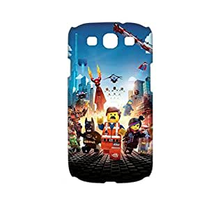 Generic Desiger Phone Cases For Man With The Lego Movie For Samsung Galaxy S3 Full Body Choose Design 1-4