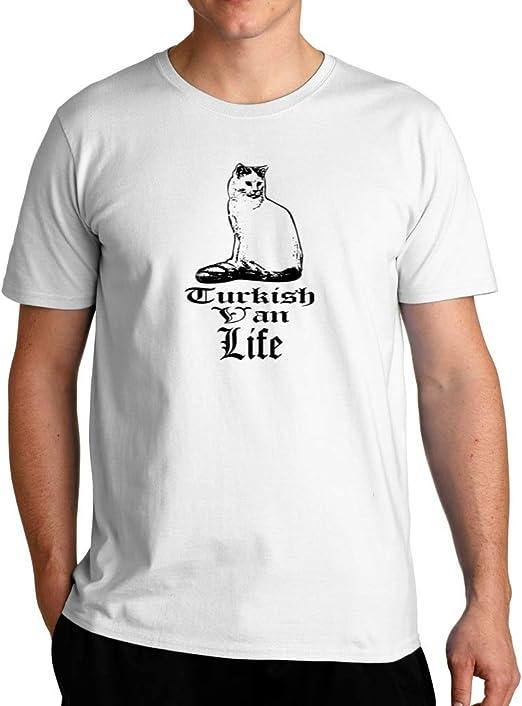 Amazon.com: Eddany Turkish Van Life T-Shirt: Clothing