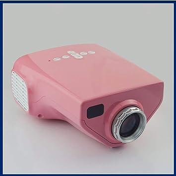 Electz Mini proyector LED a Todo Color portátil para Regalo de ...