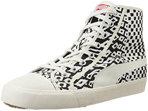 Puma - Zapatillas de material sintético para hombre blanco schwarz-weiß (Zebra)
