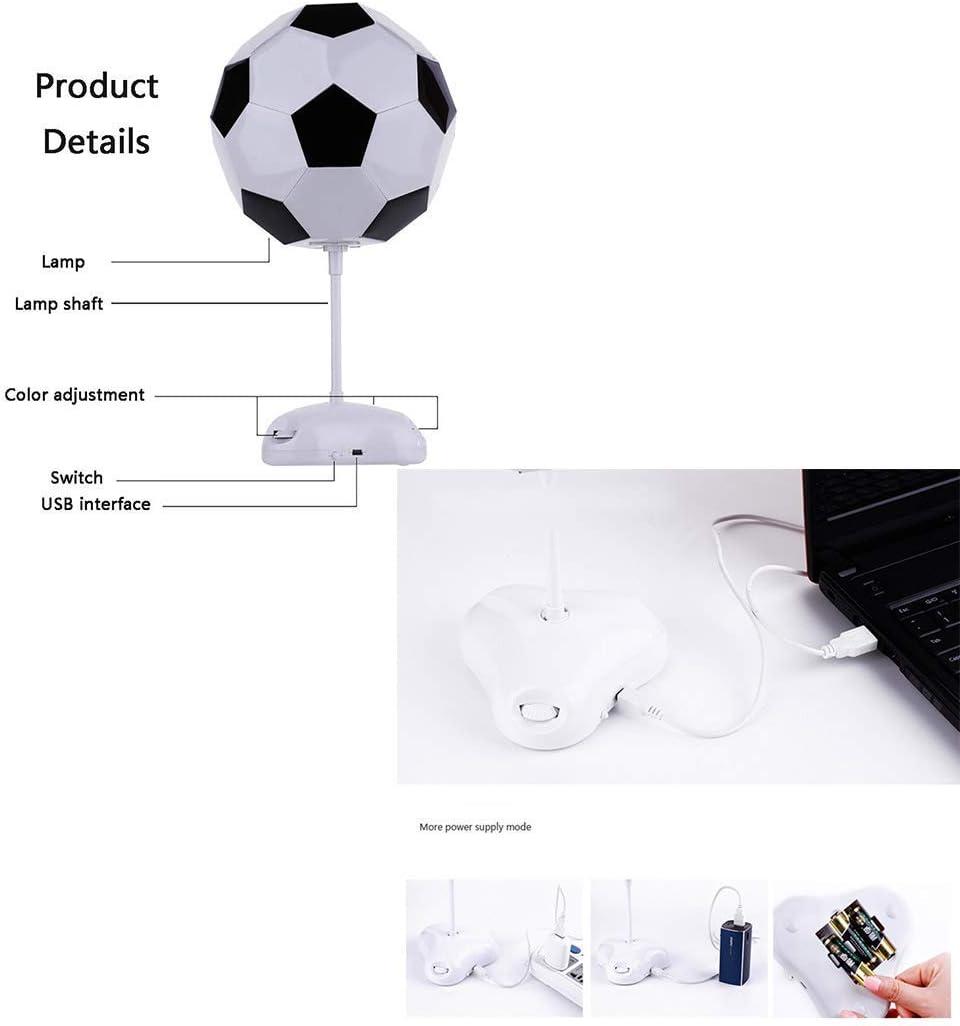 XYJGWSTD 3D Illusion Lampe Football LED Night Light