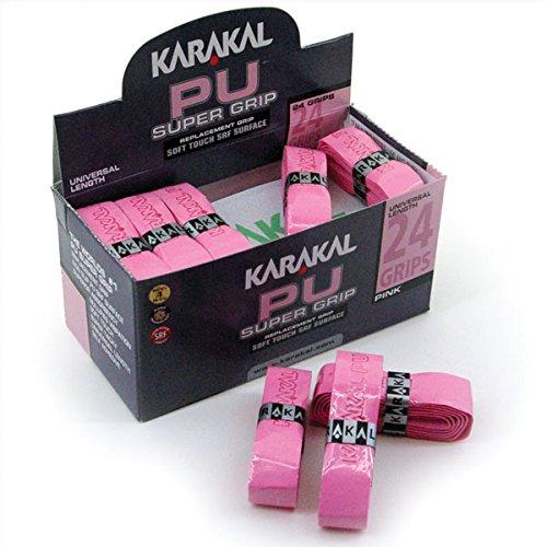 Karakal PU Super Grip 24-Pack Pink