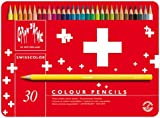 Caran D'ache 1285.730 Swisscolor Colour Pencils in Metal Box (Pack of 30)