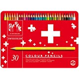 Caran D'ache Swisscolor Colour Pencils in Metal Box (Pack of 30)