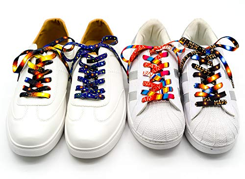 Flat Printed Shoelaces,Shoe Laces for