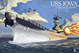 USS Iowa - The Gray Ghost (36x54 Giclee Gallery Print, Wall Decor Travel Poster)