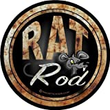 "ProSticker 712 (One) 10.1cm Rat Rod Series ""Rat Rod"" Decal Sticker"