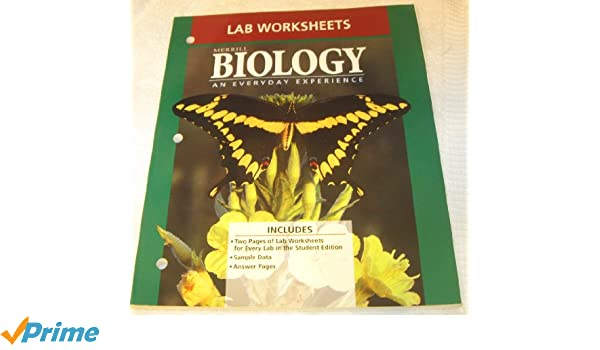 Amazon.com: Biology: An Everyday Experience Lab Worksheets ...