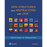 Data Structures and Abstractions with Java (5th Edition) (What's New in Computer Science)