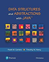 Data Structures and Abstractions with Java, 5th Edition Front Cover