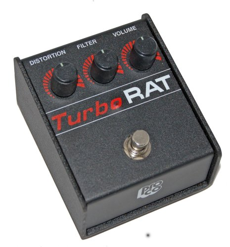 Pro Co Turbo Rat Distortion Pedal (Best Distortion Pedal For Punk)