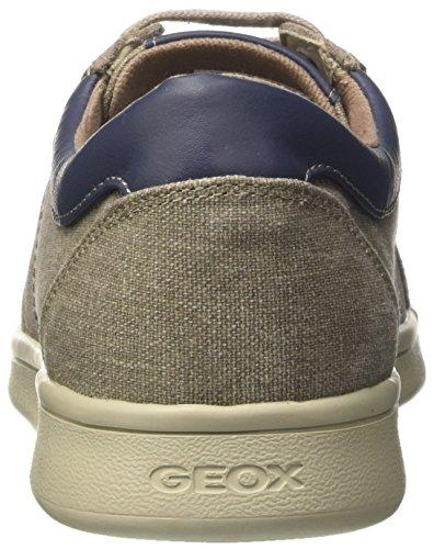 Geox U Warrens a, Zapatillas para Hombre Gris (ROCKC5097)
