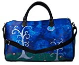 Vegan Leather Extra Large Handbag - Taken From My Original Oil Paintings (Trees - The Couple)