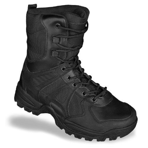 Security Boots Combat Ii Generation Tactical Army Mens Police Black Leather rxwIWrZq