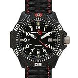 Armourlite Caliber Series Black Dial Watch with Tritium Illumination and Sapphire Crystal AL603