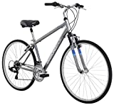Diamondback Bicycles Kalamar Complete Hybrid Bike, Silver, 17'/Medium