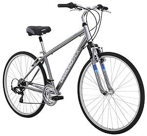 "Diamondback Bicycles Kalamar Complete Hybrid Bike, Silver, 17""/Medium"