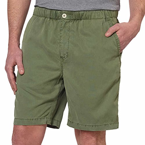 Kirkland Signature Men's Tencel Shorts ~ Running Gym Beach Athletic ~ Large Sizes Available (Small, Green)