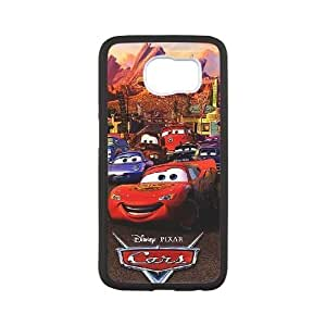 Disney Cars and Mater Image On The Samsung Galaxy s6 Black Cell Phone Case AMW898929