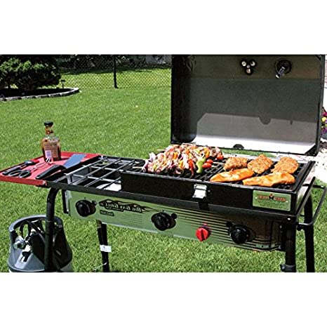 Barbacoa fumador. Campamento Chef BBQ Grill Caja para al ...
