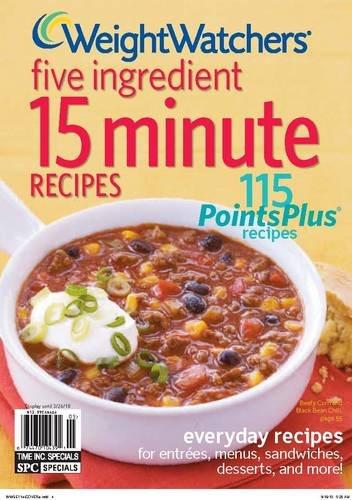Download Weight Watchers Five Ingredient 15 Minute Recipes pdf epub