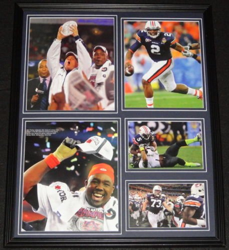 2010 Auburn Tigers BCS Championship Team Framed 16x20 Photo Display Cam Newton