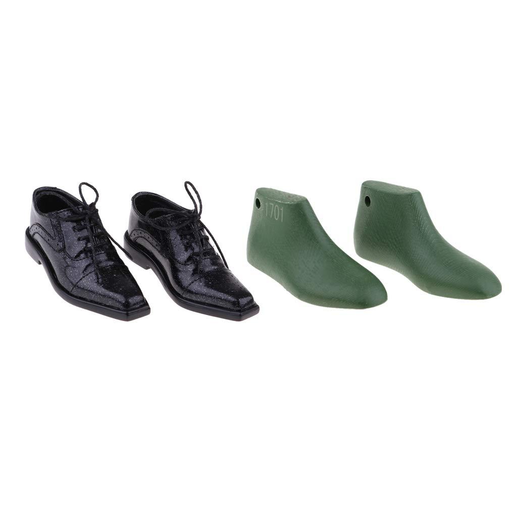 KESOTO 1/3 Zapatos de Tío de Cuero último Molde de Zapatos para MSD Doll Outfit
