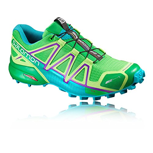 Salomon Speedcross 4 CS W, Zapatillas de Trail Running Para Mujer Verde
