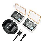 LP-E6 KingMa Camera Battery Charger Set for Canon LP-E6, LP-E6N and Canon EOS 5D Mark IV,EOS 5D Mark III,EOS 5D Mark II,EOS 6D,EOS 7D,EOS 7D Mark II,EOS 60D,EOS 70D,EOS 80D,XC10