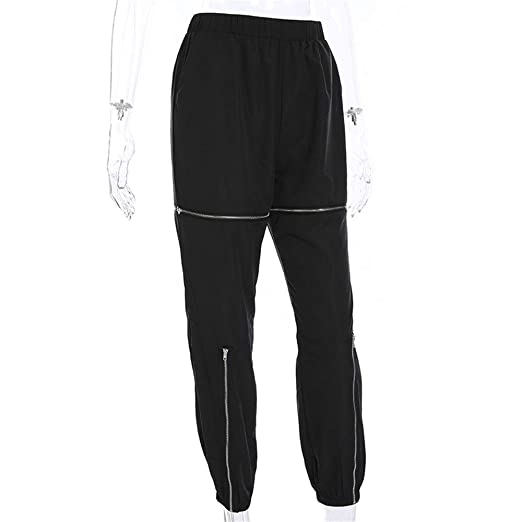 Pantalones de chándal Pantalones de mujer elásticos Wasit Cargo ...