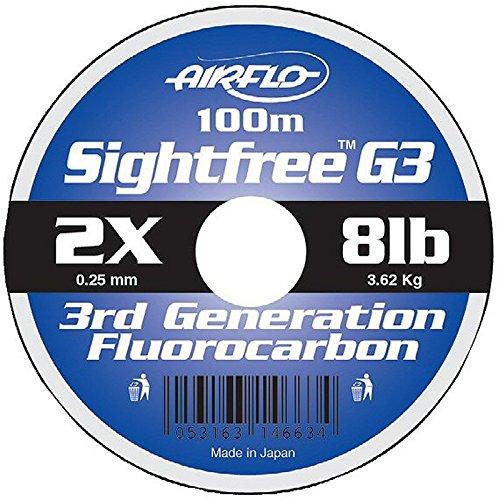 Airflo SIGHTFREE G3 FLUOROCARBON 8LB 100M