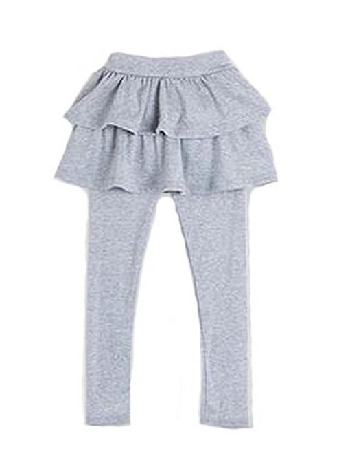 3 - 11Y Cute Kid Niña Volantes tutú falda pastel Falda-Pantalón ...