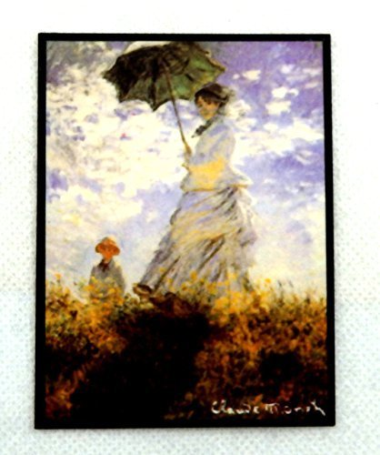 非常に高い品質 Dolls House & Miniature Picture Monet Woman with Parasol Mme Miniature Monet & Son The Stroll B01CYJ435M, 有田みかん農家直送やましん農園:77c526c7 --- diceanalytics.pk