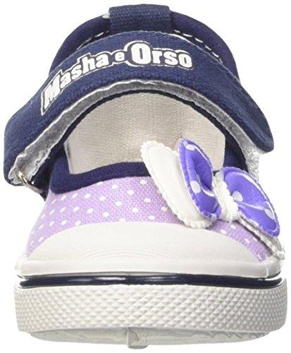 MASHA E ORSO S15707waz - zapatitos para bebé Niñas Viola (171 Lilla)