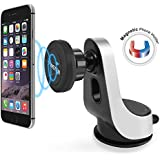 Magnetic Car Mount, Insten Easy to Install on Dashboard/Windshield, 360 Rotation Swivel Phone Holder Cradle W/...