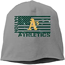 Athletics Nation Vintage DeepHeather Hedging Knitted Hat Beanies Caps
