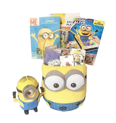 Despicable Me Minion Ultimate Jumbo Gift Basket - Perfect fo