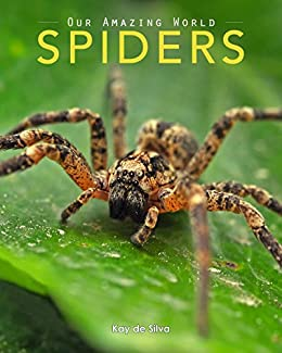 Spiders: Amazing Pictures & Fun Facts on Animals in Nature (Our Amazing World Series Book 7) by [de Silva, Kay]