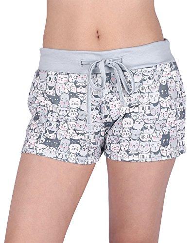 Women's Workout Yoga Hot Shorts Activewear, Drawstring Pajama Bottoms ()